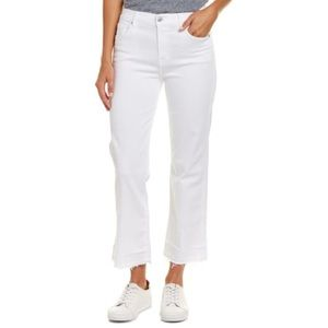 7 For All Mankind Kiki Luxe White Jean